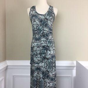 Nicole Miller Artelier Maxi Dress M